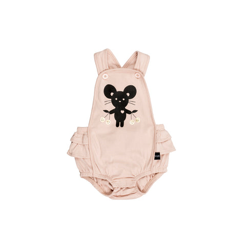 Huxbaby Tearose Mouse Playsuit Afterpay