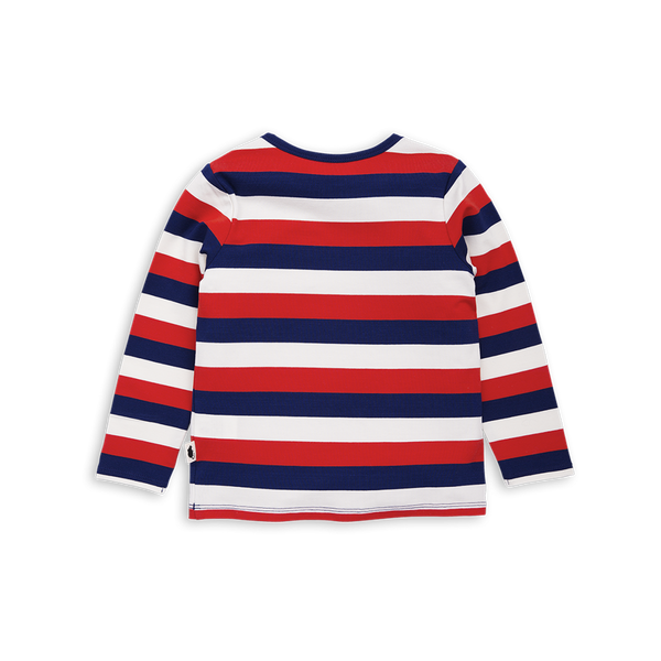 Mini Rodini Block Stripe LS Tee