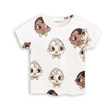 Mini Rodini Babies Organic SS Tee | Size 9-18M Last One Afterpay