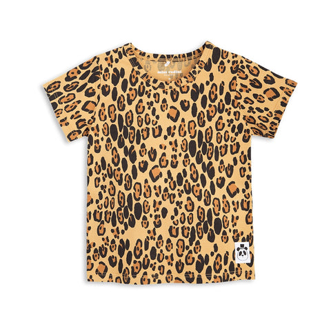 Mini Rodini Basic Leopard Organic SS Tee | Size 3-5Y Last One Afterpay