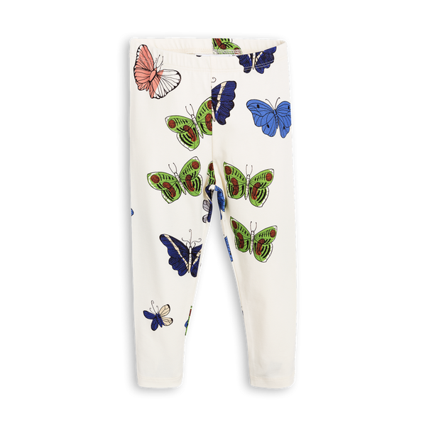 Mini Rodini Butterflies Organic Leggings Afterpay