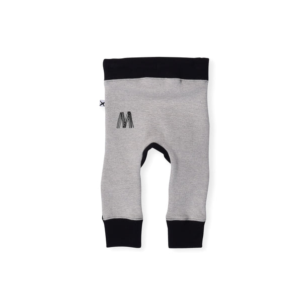 Minti Baby Hidden Knee Trackies Black