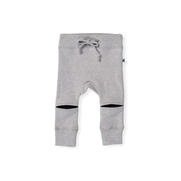 Minti Baby Hidden Knee Trackies Grey