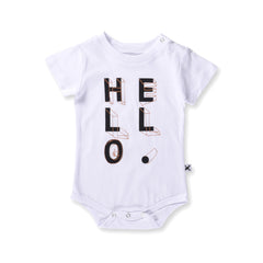 Minti Baby Hello Shapes Bodysuit