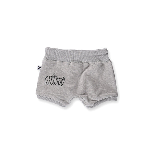 Minti Baby Sporty Short Grey Marle | Size 3-6M Last One