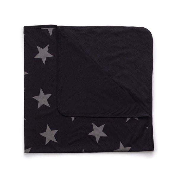 NUNUNU Black Star Baby Blanket Afterpay