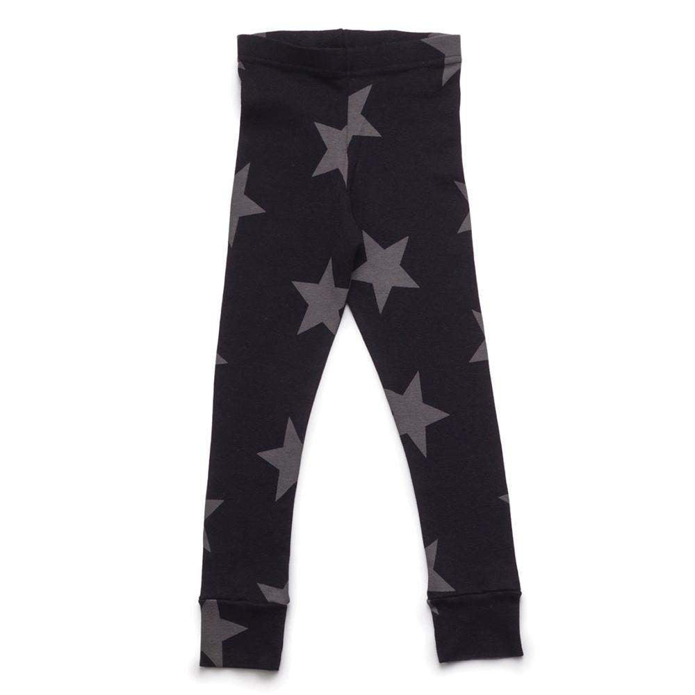NUNUNU Black Star Leggings Afterpay