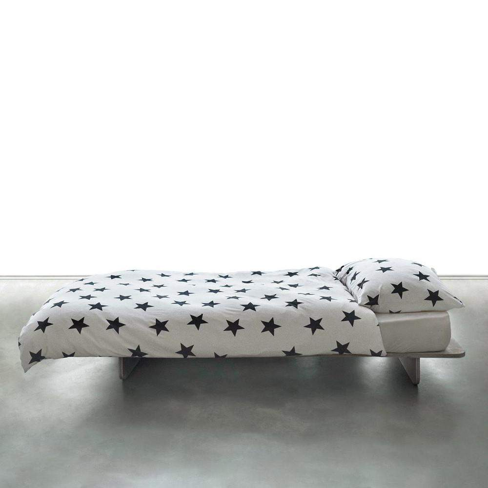NUNUNU White Star Bedding Set | Cot Afterpay