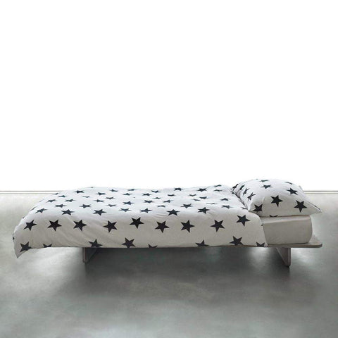 NUNUNU White Star Bedding Set | Cot