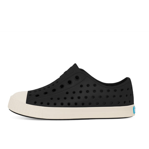 Native Shoes Kids Jefferson | Jiffy Black / Bone White Afterpay