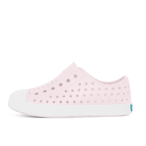 Native Shoes Kids Jefferson | Milk Pink / Shell White Afterpay