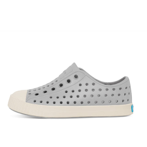 Native Shoes Kids Jefferson | Pigeon Grey / Bone White Afterpay