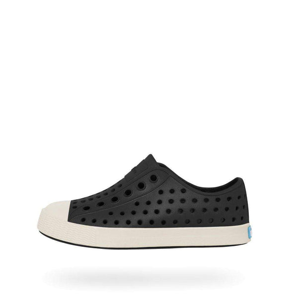 Native Shoes Kids Jefferson | Jiffy Black / Bone White