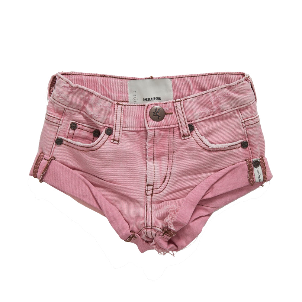 OneTeaspoon Kids Bandits Denim Short Evil Eye