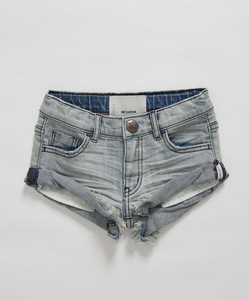 OneTeaspoon Kids Bandits Denim Short Mid West