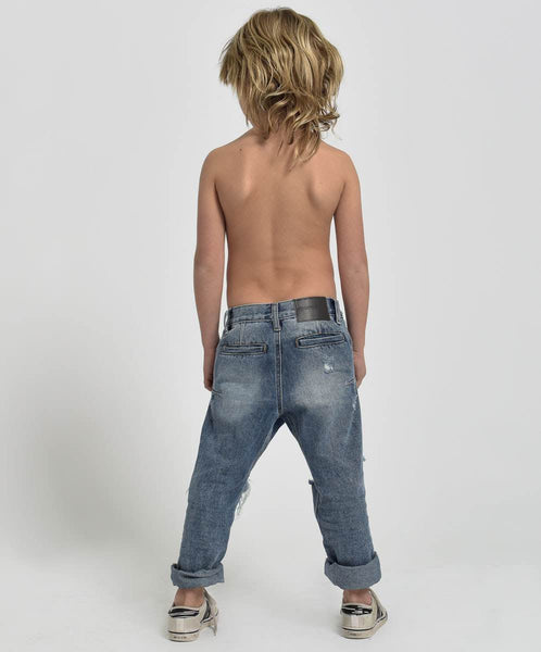 OneTeaspoon Kids Mr Brown Relaxed Fit Jean