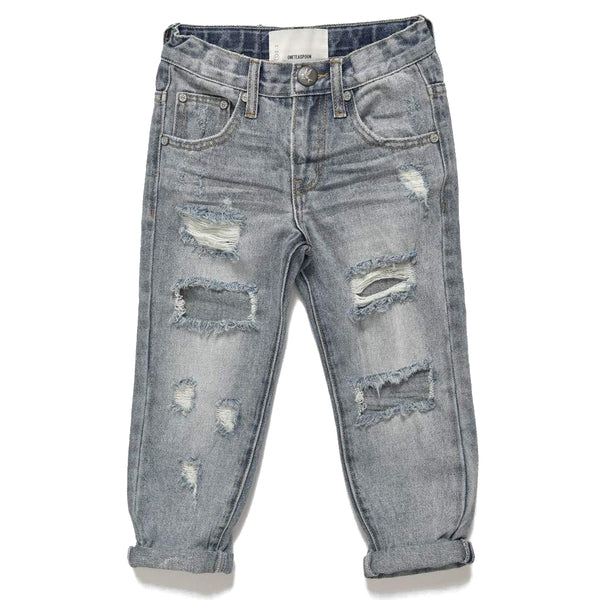 OneTeaspoon Kids Awesome Baggies Straight Leg Jean | Size 6-7Y Last One