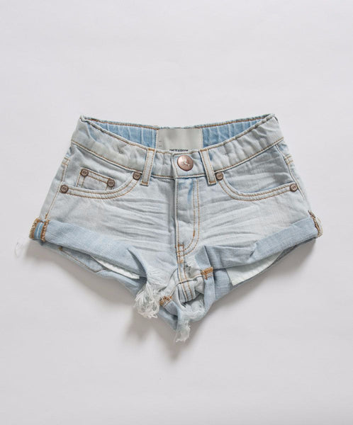 OneTeaspoon Kids Brando Bandits Denim Short Afterpay Designer Clothes