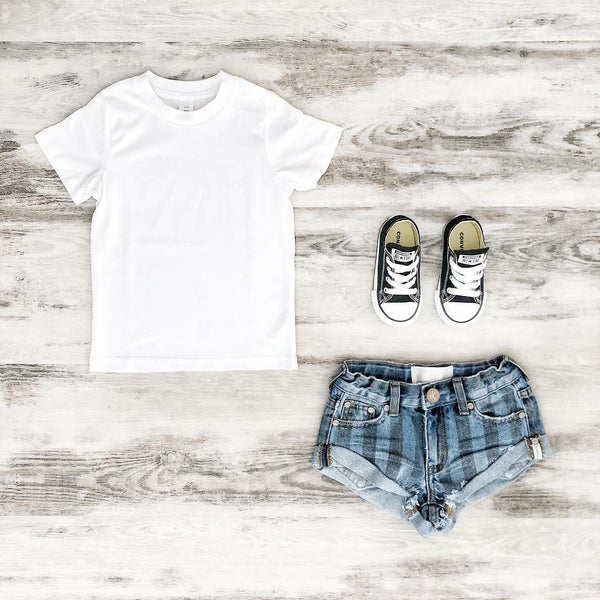 OneTeaspoon Kids Bandits Denim Short Zephyr Stripe | Last Two