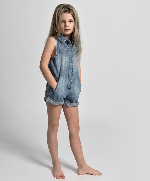OneTeaspoon Kids Mini Braxton Playsuit Afterpay