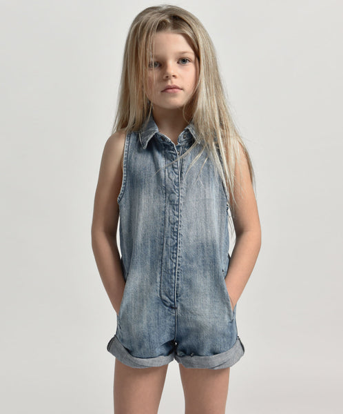 One Teaspoon Kids Mini Braxton Playsuit