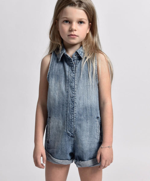 One Teaspoon Kids Mini Braxton Playsuit Afterpay