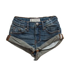 OneTeaspoon Kids Superstar Blue Bandits Denim Short