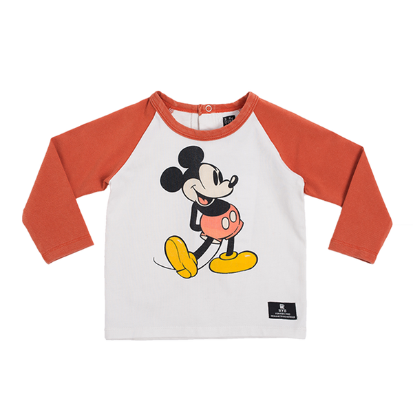 Rock Your Baby 80's Mickey Tee | Size 12-18M Last One