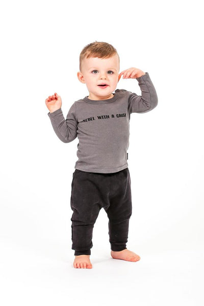 Rock Your Baby Rebel With A Cause Tee