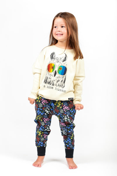 Rock Your Kid Be A Nice Human Jumper Afterpay Cool Kids Clothes For Girls