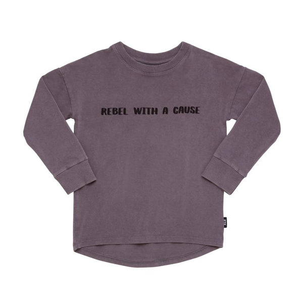 Rock Your Kid Rebel With A Cause Tee