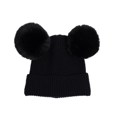 Rock Your Kid Mickey Beanie Black
