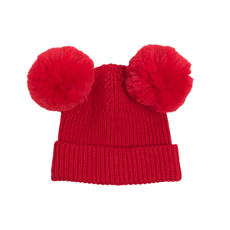 Rock Your Kid Mickey Beanie Red