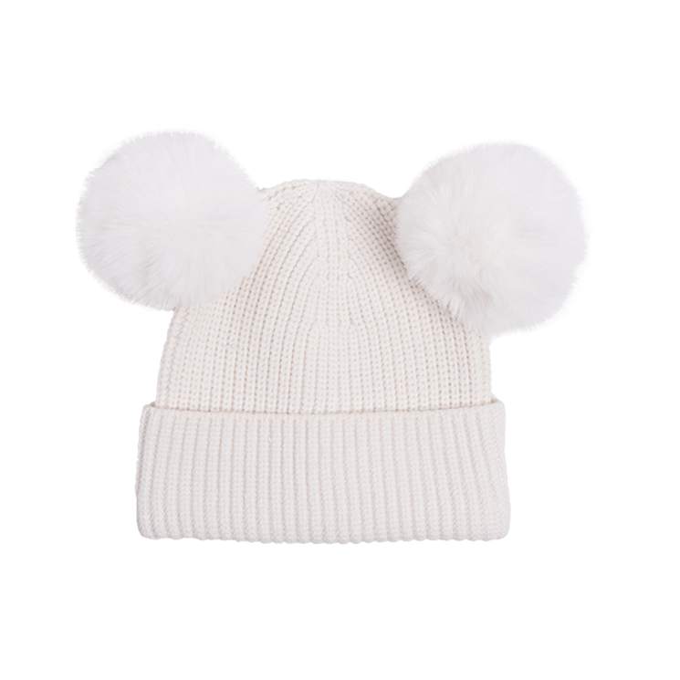 Rock Your Kid Mickey Beanie White