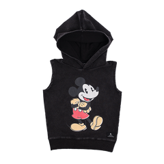 Rock Your Kid Mighty Mickey Sleeveless Hoodie | Size 5Y Last One