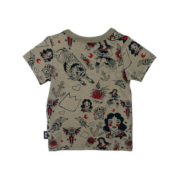 Rock Your Baby Rising Sun SS Tee Afterpay