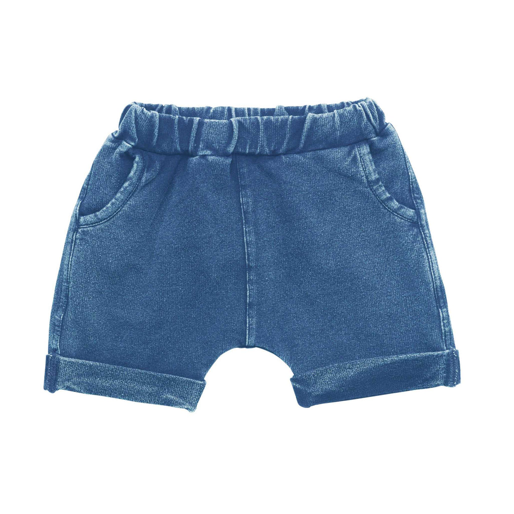 Rock Your Baby Smash Short Blue