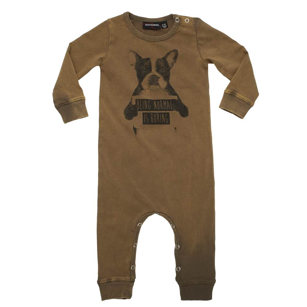 Rock Your Baby Normal Is Boring Playsuit Afterpay
