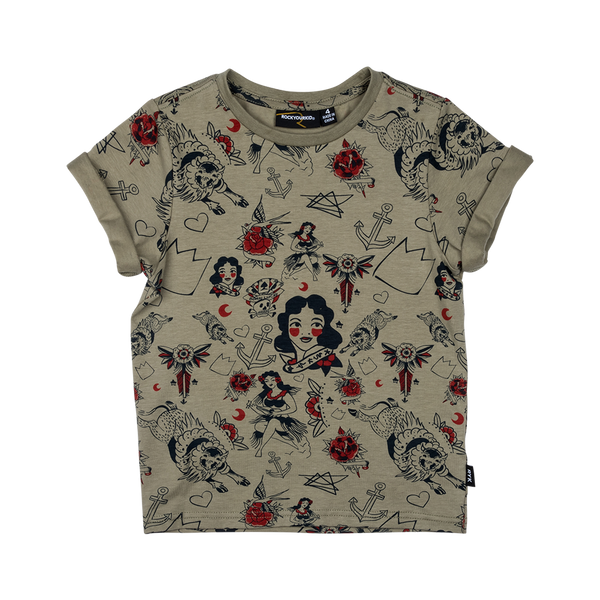 Rock Your Kid Rising Sun SS Tee Afterpay