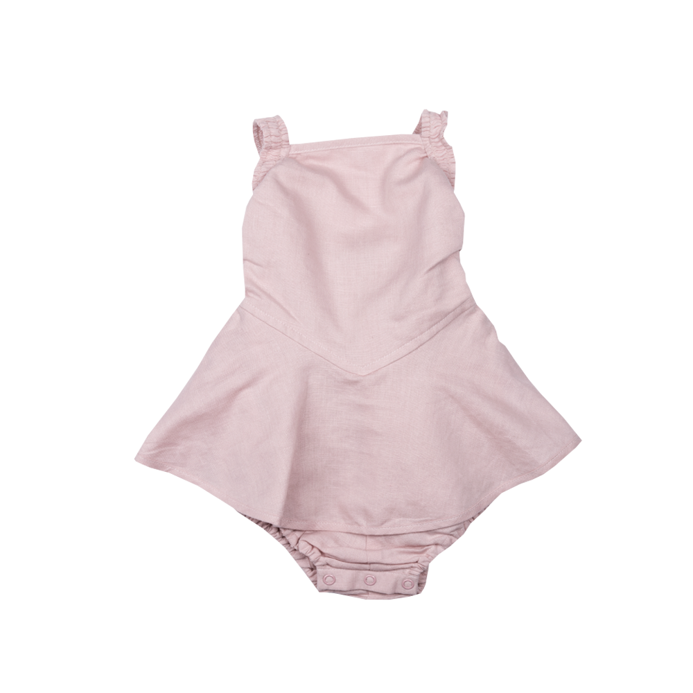 Rock Your Baby Lana Romper | Dusty Pink