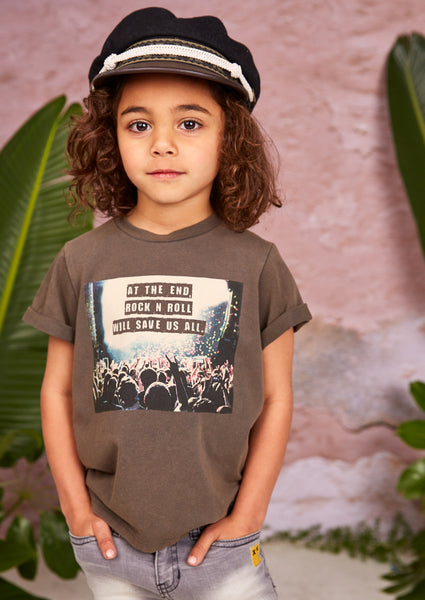 Rock Your Kid Music Will Save Us Tee