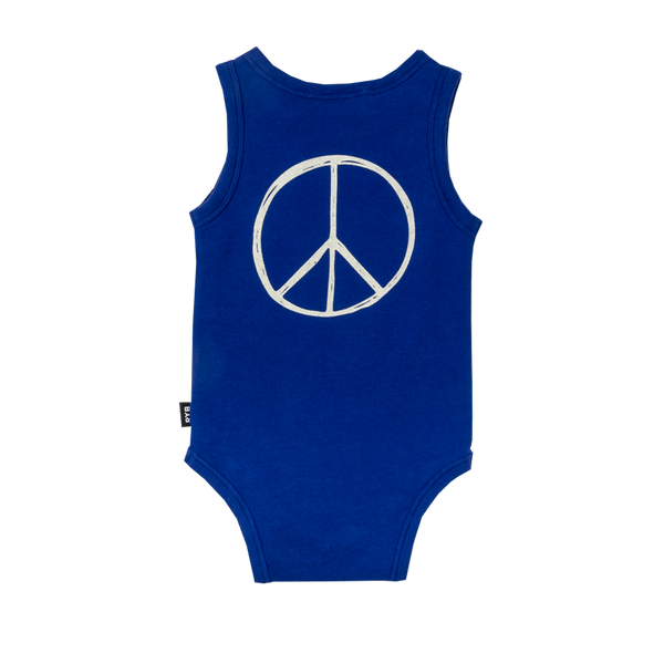 Rock Your Baby Peace Bodysuit Afterpay