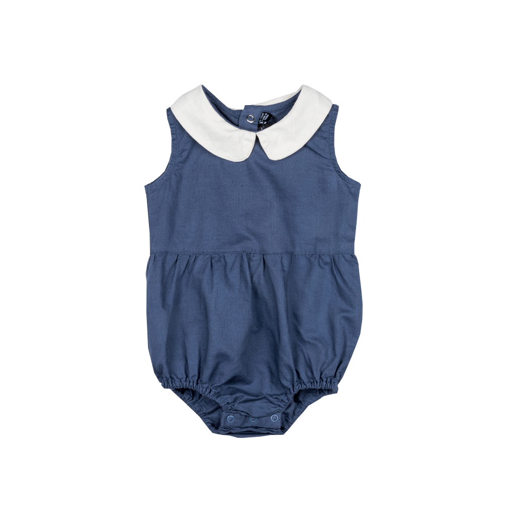 Rock Your Baby Peter Pan Romper | Blue