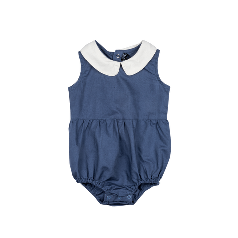 Rock Your Baby Peter Pan Romper | Blue | Size 18-24M Last One