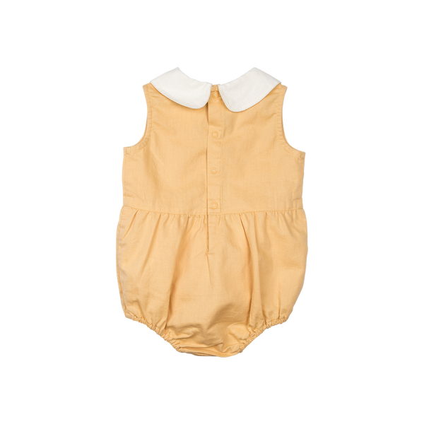 Rock Your Baby Peter Pan Romper | Mustard