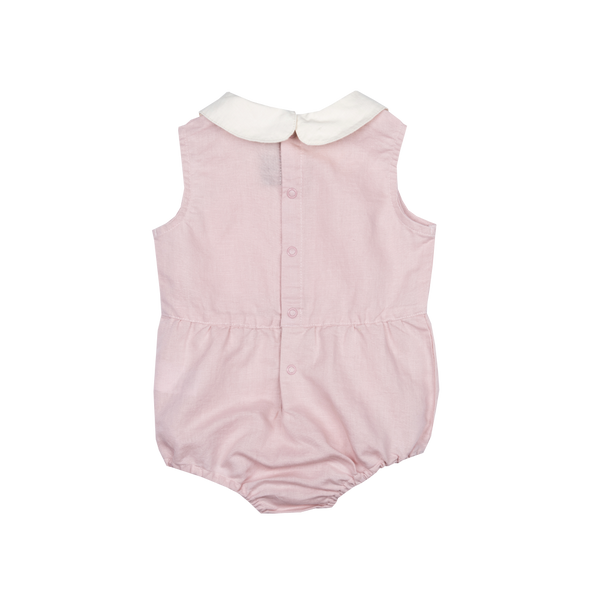 Rock Your Baby Peter Pan Romper | Dusty Pink