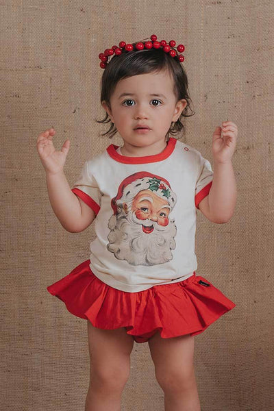 Rock Your Baby Red Ruffle Pant