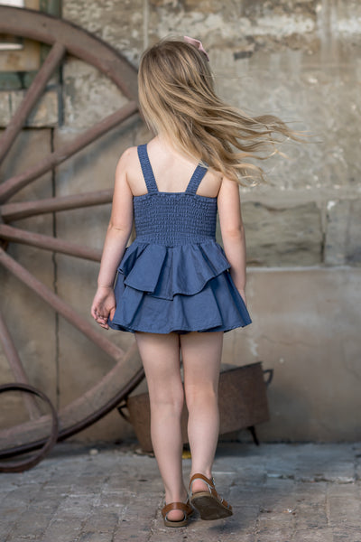 Rock Your Kid Lana Romper | Blue