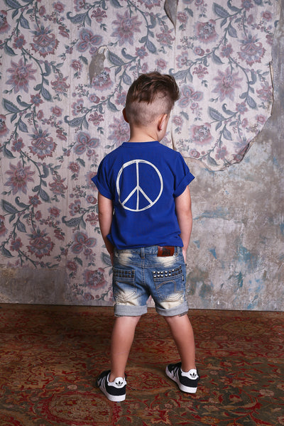 Rock Your Kid Peace SS Tee Afterpay