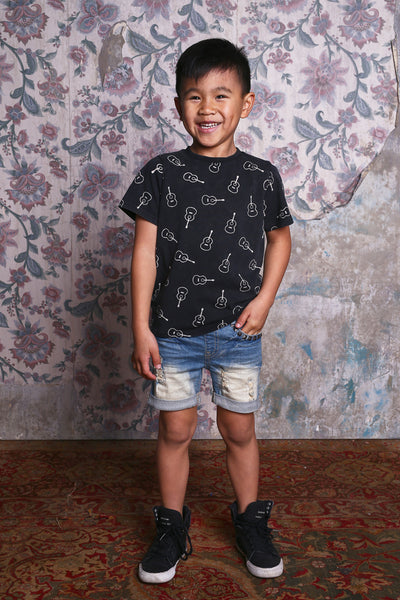 Rock Your Kid Strum SS Tee Afterpay